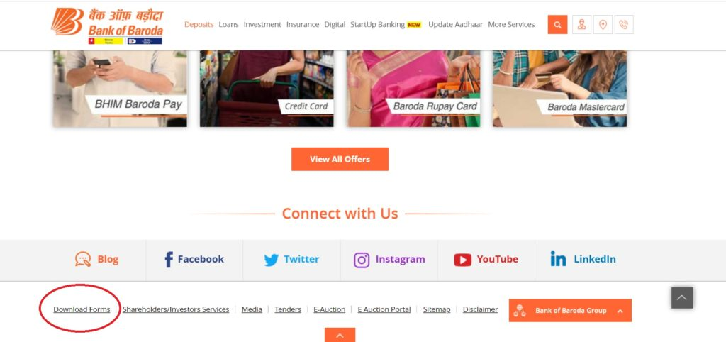 bank of baroda net banking registration
