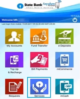 SBI anywhere app for CIF number