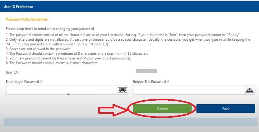 enter atm card details