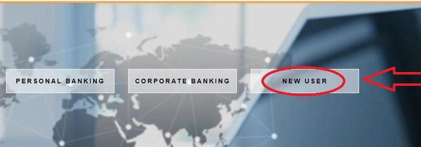 new user registration of federal bank