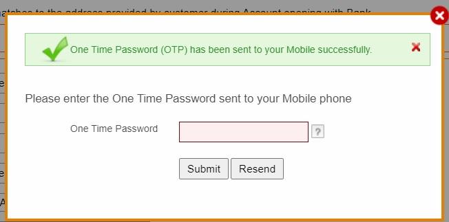 OTP verification