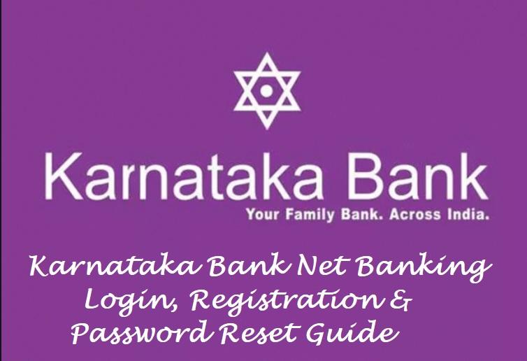Karnataka Bank Internet Banking