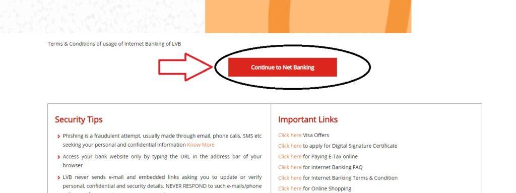 lakshmi vilas bank internet banking