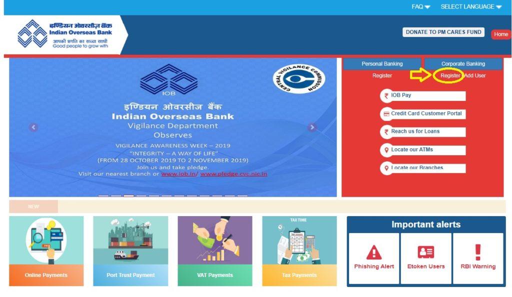 Indian-overseas-bank-corporate-customer-net-banking